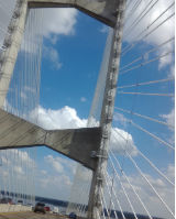 Jacksonville`s Dames Point Bridge